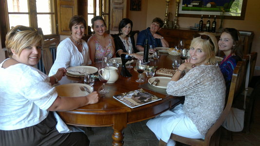 Lunch and wine tasting